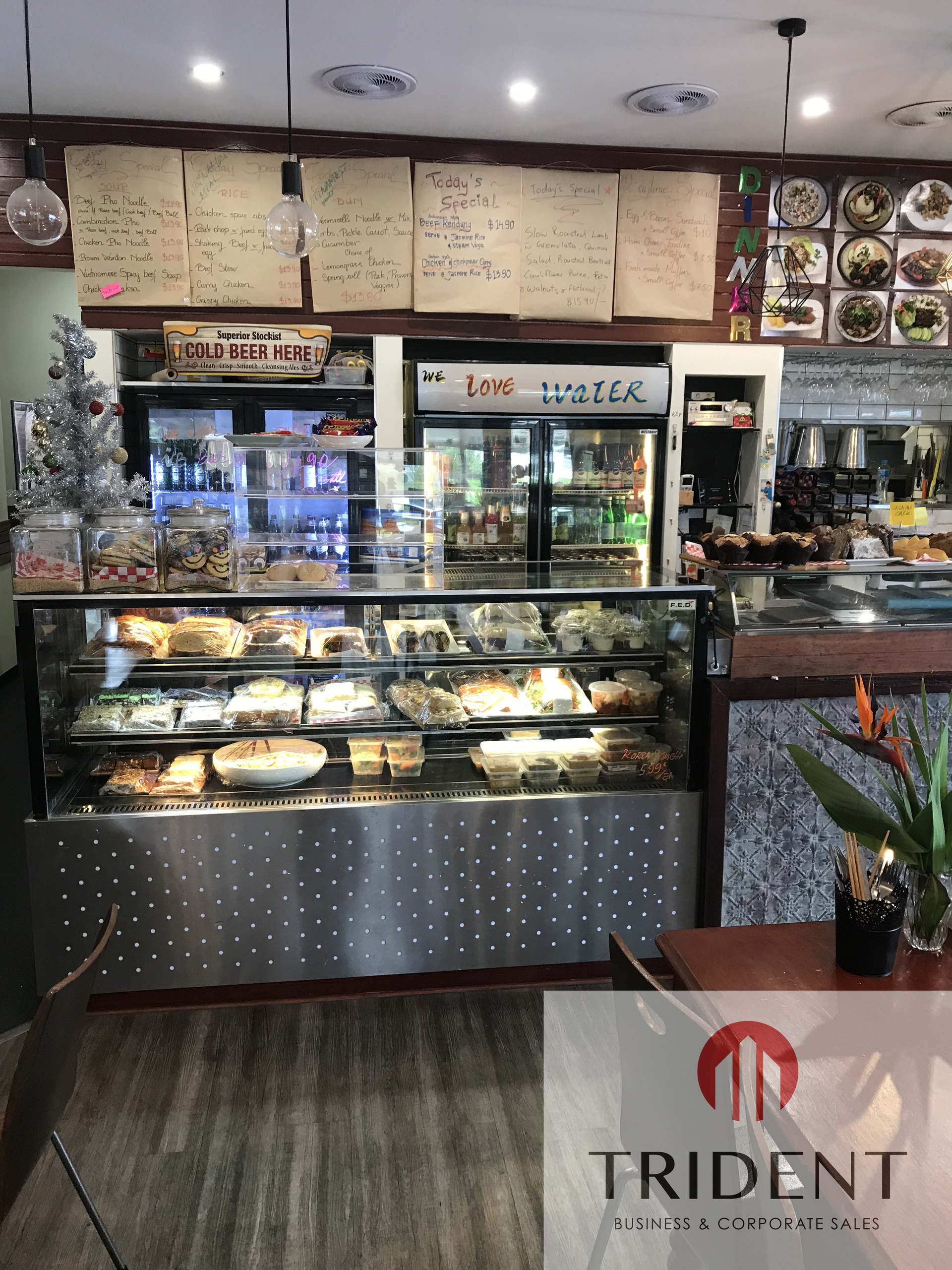 Fully Licensed Industrial Cafe - No Competition - Get in First !
