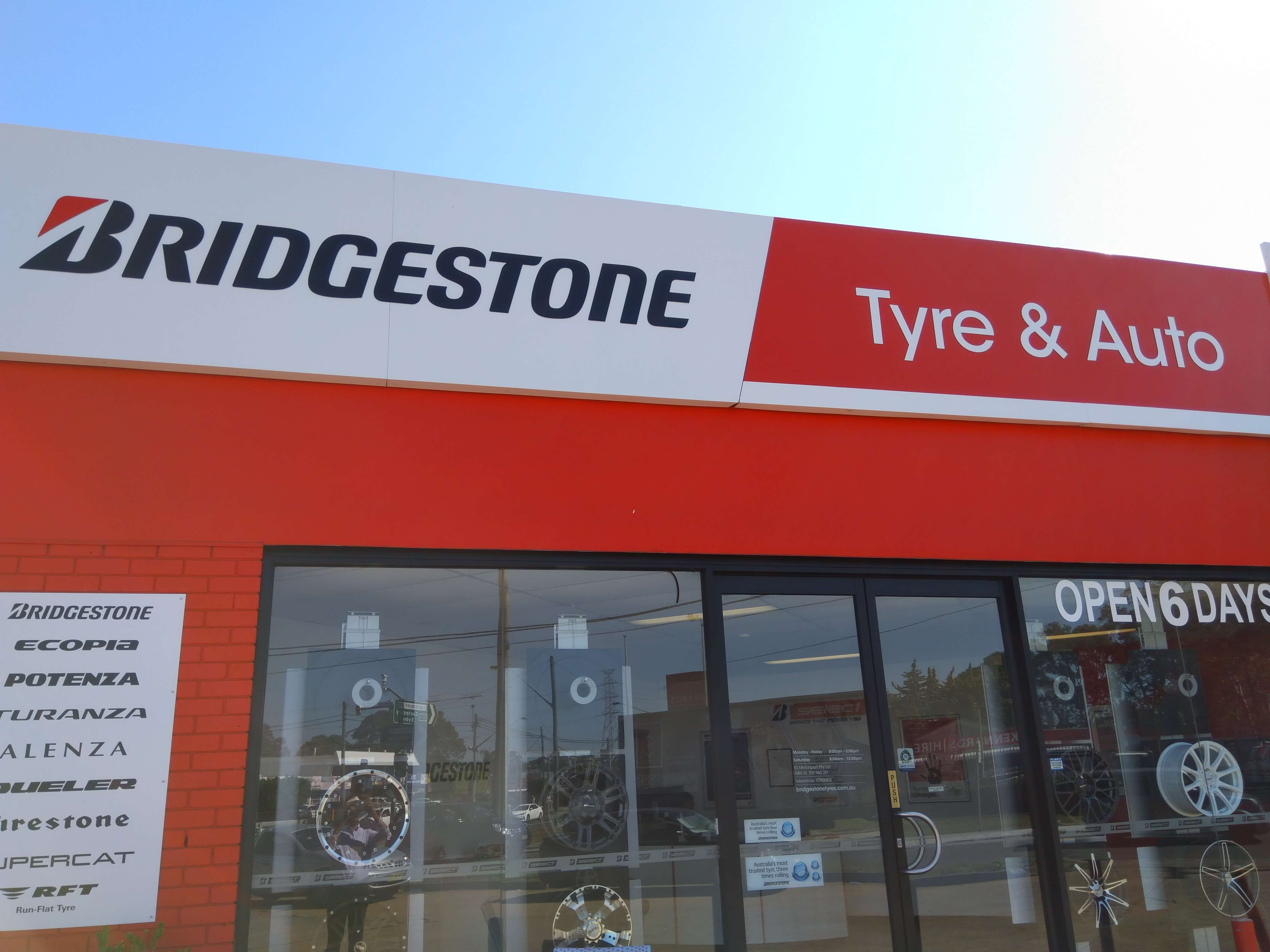 BridgeStone Select - Premium Store - Bankstown