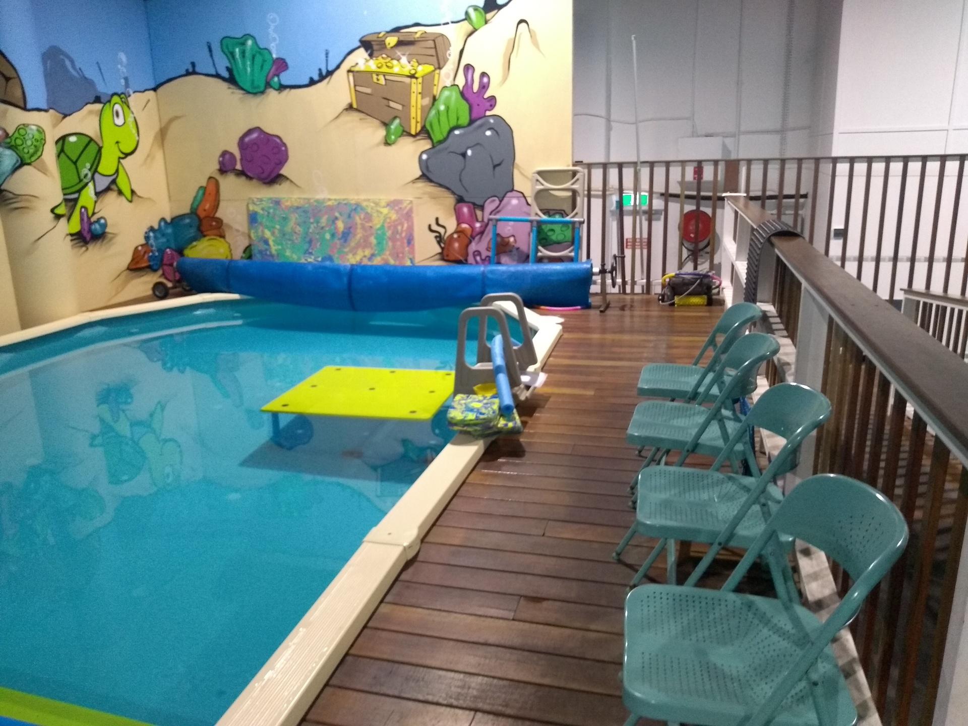 Swim school with Largest Indoor Swim pool at Hills District.