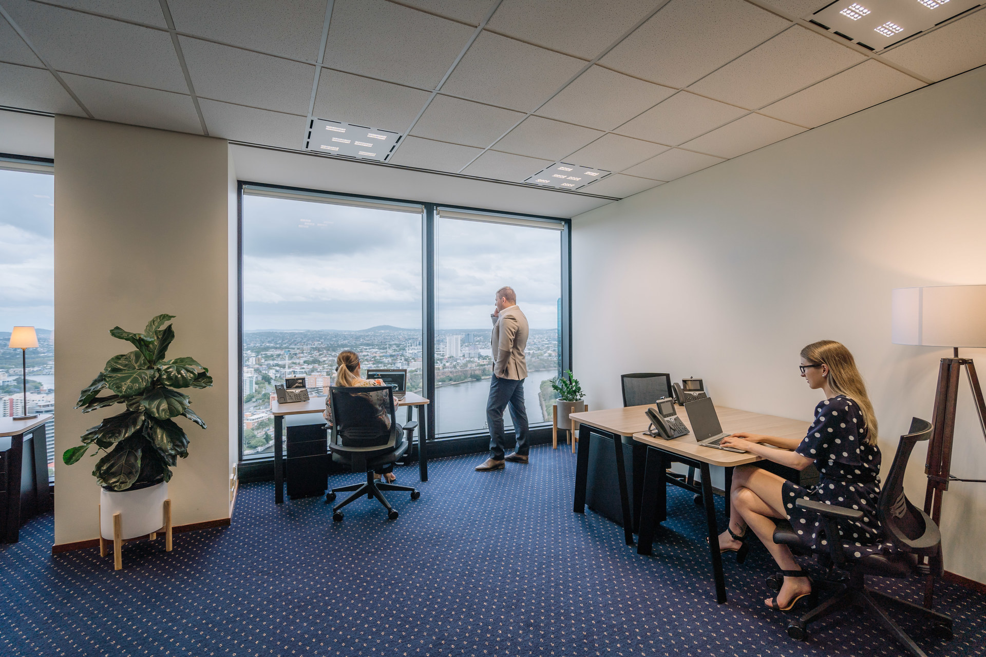 Marvelous views from your 2-person private workspace located in the heart of Bondi Junction