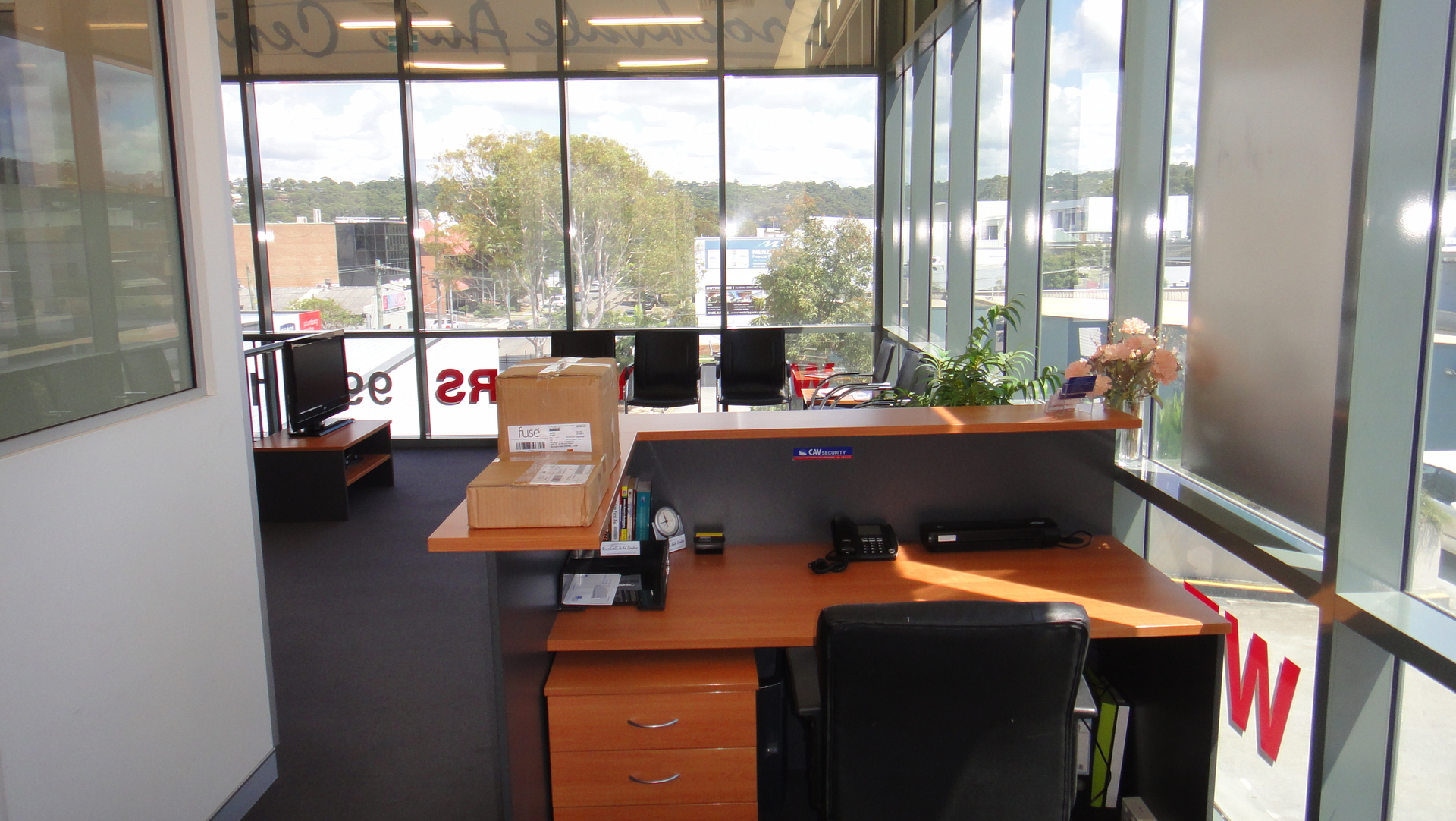 Fully Furnished Air-Conditioned Office Space in Central Mitchell Road Location.